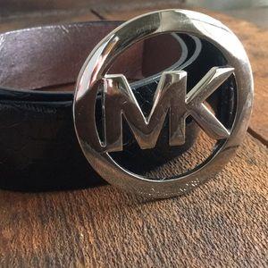 Authentic Michael Kors logo belt
